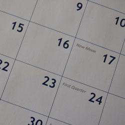 Calendar of events - Urve Tamberg