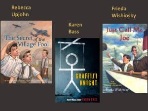 frieda, rebecca, karen - book covers
